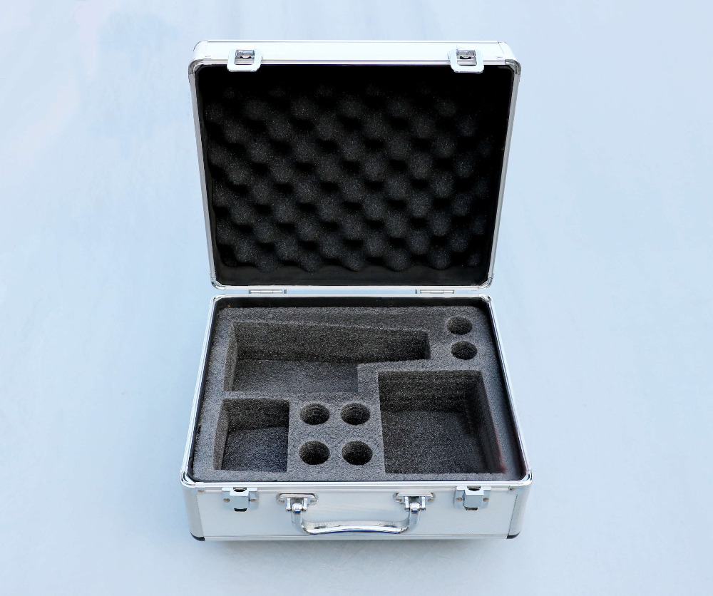 High Quality Portable Metallographic Microscope BJ-X BJ-A High-grade Aluminum Box Case 32x27x16cm modern simple stainless steel brushed handle cabinet wardrobe solid drawer cabinet door handle silver double surface handle