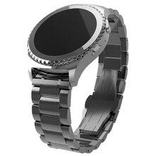 Excelente Calidad 20mm Venda de Reloj de la Correa de Liberación Rápida para Samsung Galaxy Gear S2 Clásico de Pulsera Correa de Acero Inoxidable