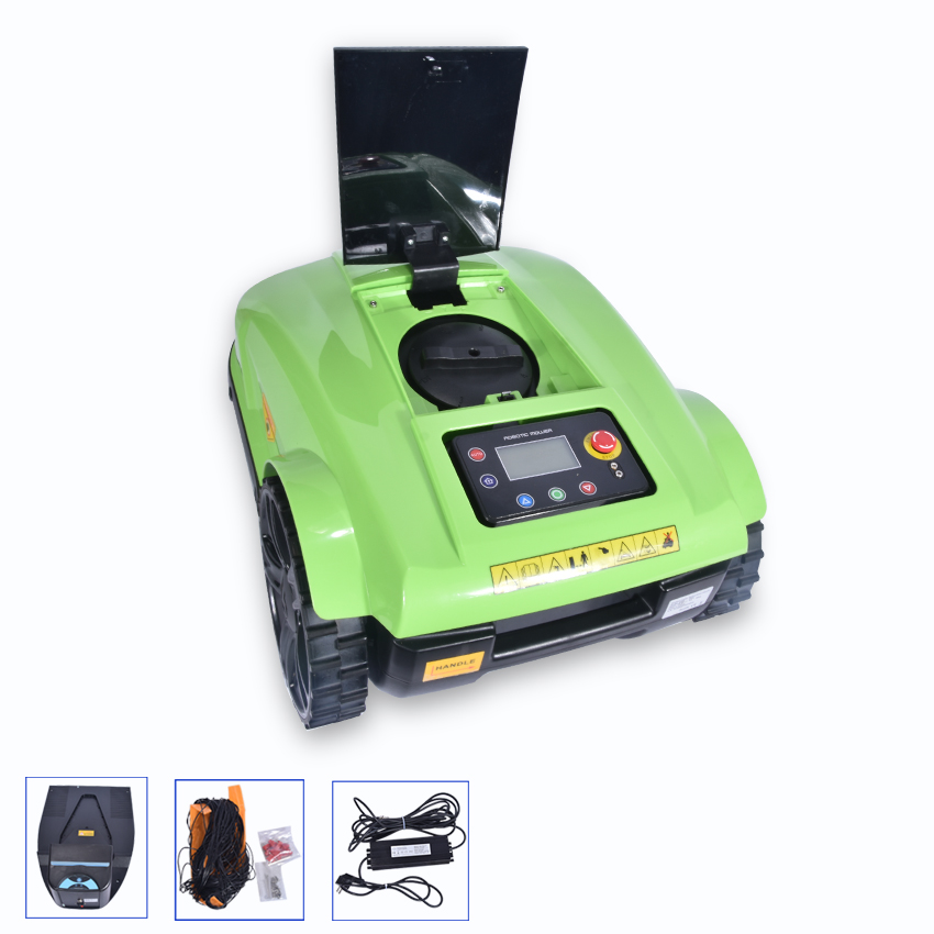 S520 4th Generation Robot Lawn Mower With Range Funtion,Auto Recharged,Remote Controller,Waterproof,35m/min,2.5-6cm Cut Height