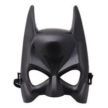 1Pc Halloween Half Face Batman Mask Black Masquerade Dressing Party Masks Cosplay Costume Festival Supplies 2018