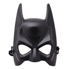 1Pcs Halloween Half Face Batman Mask Black Masquerade Dressing Party Masks Cosplay Mask Costume Party Festival Supplies 2018(China)