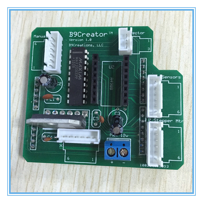B9shield choose shield B9 Creator for 3d printer Uno board A4988 board accessaries main board free shipping 3D0081