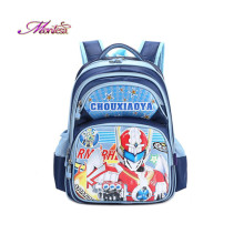 2016 2-4 grade school bag  Snow white Ultraman Minions backpack school bags for teenagers character brand backpack / bag exo