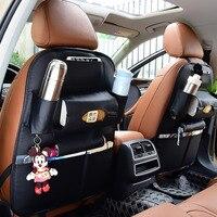 Car Multi-Pockets Seat Back Organizers Drinks Holder Travel Storage Bag Car Seats Storage Organizers for Car  Pocket Bag