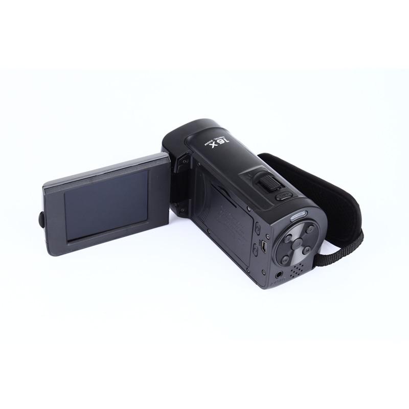 ELRVIKE HD 1080P caméra numérique HDV caméra vidéo caméscope 16MP 16x Zoom COMS capteur 270 degrés 2.7 pouces TFT LCD écran - 6