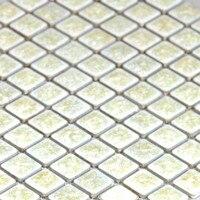 WHITE Ice Crack Porcelain Mosaic Tiles Backsplash HMC1009 Ceramic Mosaic Porcelain Wall Tile Bathroom Porcelain Floor
