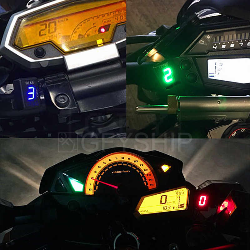 Мотоцикл ЖК-дисплей для детей возрастом 1-6 ступенчатая передача Индикатор 6 Скорость цифровой индикатор передачи для Honda все FI модель CBR600RR CBR1000RR CB600F Hornet CB400