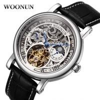 2020 novos relógios de esqueleto dos homens marca superior de luxo automático mecânico tourbillon relógio de luxo de alta qualidade relógio fase da lua|Relógios mecânicos| |  -