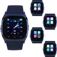 업데이트 M26 무선 블루투스 V4.0 스마트 워치 스마트 손목 전자 시계 동기화 전화 메이트 IOS 애플 아이폰 안드로이드 전화