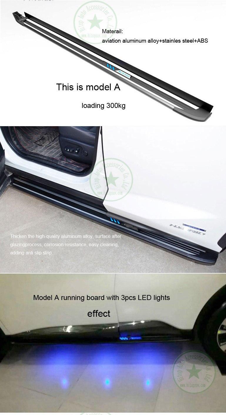 neueste populäre Trittbrettseitenschritt-Seitenstange für Nissan - Autoteile - Foto 3