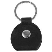 New Guitar Pick Holder Black Genuine Leather Guitarra Plectrum Case Bag Like Key Chain Guitar Accessories Convenient convenient durable leather key case holder for car black