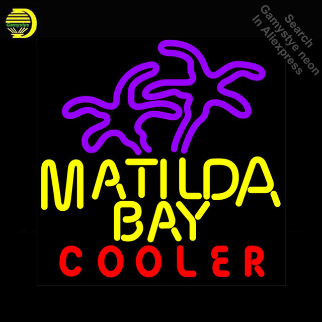 Matilda Bay Cooler Neon Sign neon Light Sign galss tubes Commercial dISPLAY Recreation Warehouse Light Iconic Neon sign for sale