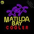 Matilda baie refroidisseur néon signe néon lumière signe galss tubes affichage Commercial loisirs entrepôt lumière emblématique néon signe à vendre