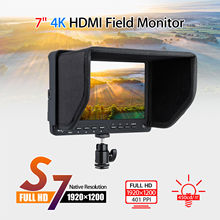 Eyoyo S7 HD 4K 7″ Ultra LCD Video Screen 1920×1200 HDMI 178 degree Field Monitor High Resolution Provide Professional Camcorder