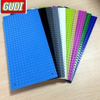 16 32 Dots Base Plate For Small Bricks 10 Colors Baseplate Board DIY Building Blocks Toys