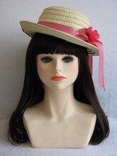Realistic Female Mannequin Head, Plastic Manikin Dummy Heads,Wig Head