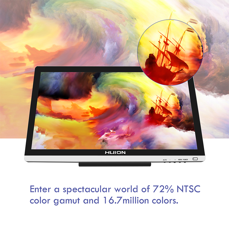 Huion GT-220 V2 21.5 inch Pen Display 3