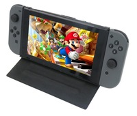Protective Case For Nintendo Switch Premium PU Leather Slim Fit Play Stand Cover For Nintendo Switch