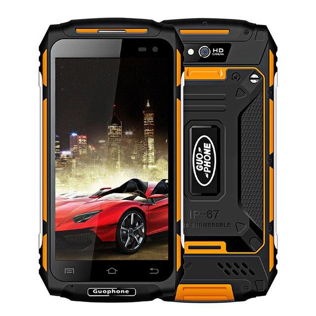 "Guophone X2 IP67 Waterproof Smartphone 1280*720 5.0"" Android6.0 MTK6737 Quad Core RAM 2GB ROM 16GB 5500mAh 4G 8MP Mobile Phone"