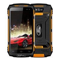 Guophone X2 IP67 Водонепроницаемый смартфон 1280*720 5,0 Android6.0 mtk6737 четыре ядра Оперативная память 2 ГБ Встроенная память 16 ГБ 5500 мАч 4G 8MP мобильного теле