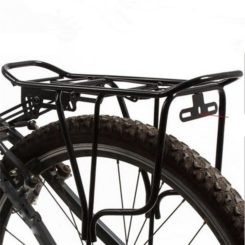 High Quality Back Rear Bag Pannier Rack Alloy Bike Bicycle Seat Post Frame <font><b>Car</b></font> Bicycle Cycling Accessories Top Quality July 12