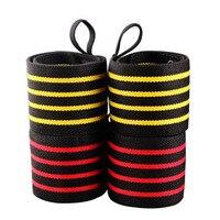 Poids De Levage Sports Bracelet Gym Poignet Pouce Soutien Sangles Bandages Bandage Formation de Remise En Forme À Main de Sécurité Bandes