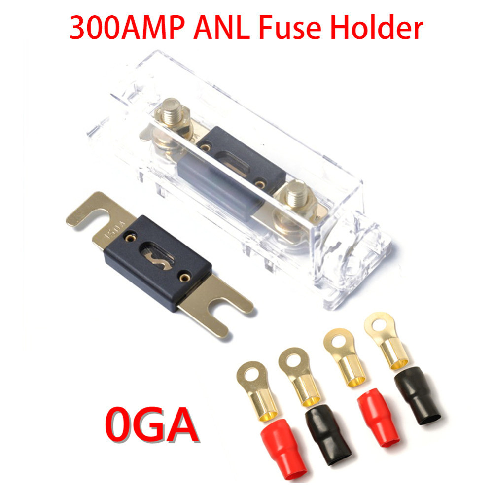 Large Sized Anl Fuse Holder Distribution 300a 150a 0ga Ring Peugeot 206 Box Open Terminals In Auto Fastener Clip From Automobiles Motorcycles On