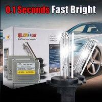 Xenon H7 F3 rápido brilhante 12 v 35 W H1 H3 H4-1 H7 H8 H9 H10 9004 9006 881 880 HID xenon luz de trabalho AUTO ESCONDEU kit xenon