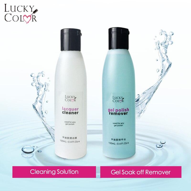 Soak Off Remover Non-Acetone Liquid For Removing UV Nail Polish ...