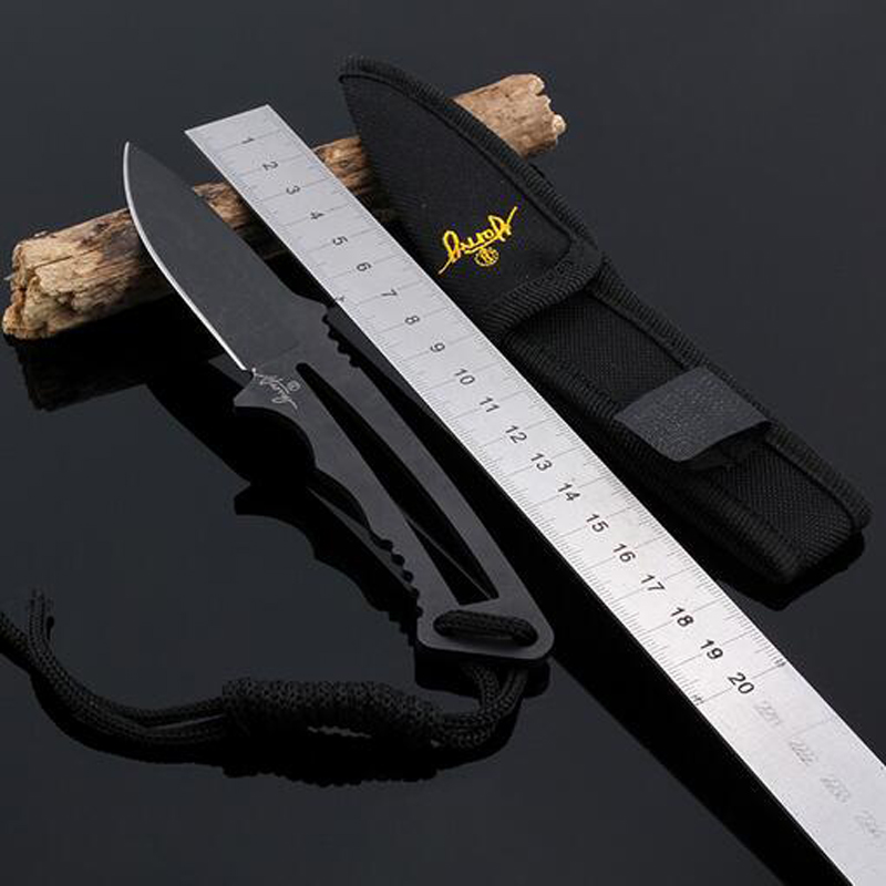 High Quality Tactical Knife Navajas Mes Fixed Blade Camping Hunting Knife Survival Knives  цены
