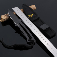 High Quality Tactical Knife Navajas Mes Fixed Blade Camping Hunting Knife Survival Knives