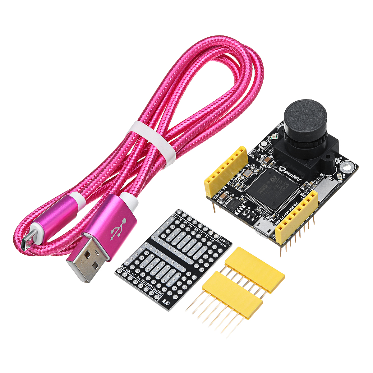 Image 2 - NEW 2018 OpenMV3 Cam M7 Smart Camera Image Processing Color Recognition Sensor Visual Inspection Line Camera Board-in Integrated Circuits from Electronic Components & Supplies