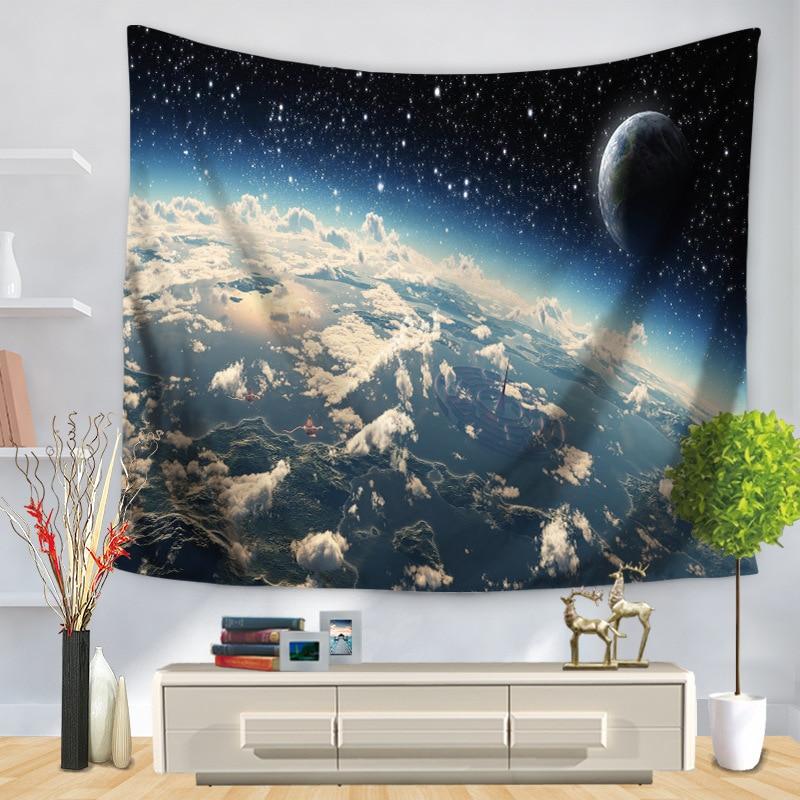 Free Shipping Home Decorators: Free Shipping Night Starry Sky Decor Beach Round Cloth
