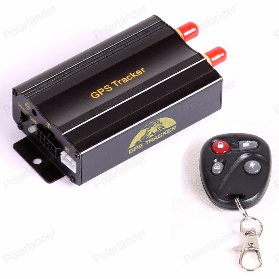 Tout nouveau GPS localisation traqueur GSM GPRS voiture en temps réel camionnettes camions vélos véhicules télécommande sms