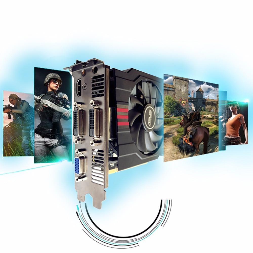 Used,original ASUS GTX 750TI 2G GDDR5 128bit  HD video card,100% tested good! 5