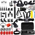 DSDACTION Gopro accessories set go pro kit mount tripod for SJCAM SJ4000 hero 5 4 3 camera case xiaomi yi eken h9 chest 12G