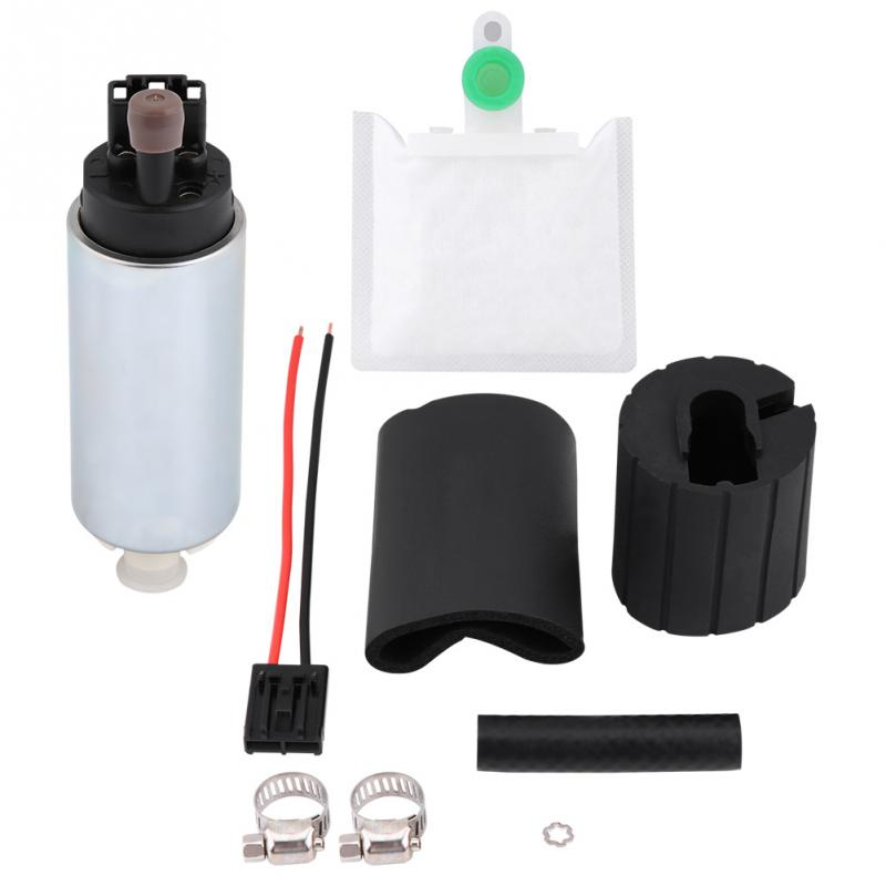 12V Eelectric Fuel Pump 255LPH High Pressure Replace Installation Kit GSS342