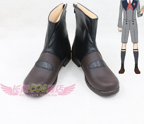 DARLING in the FRANXX Cosplay Shoes Hiro Cosplay Boots Goro Men Anime Shoes