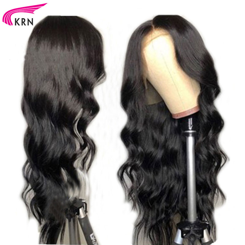 Transparent Lace color Body Wave Brazilian Lace Front Human Hair Wigs With Baby Hair 130 Density
