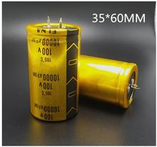 1pcs/lot good qualityPA7 100V 10000UF 80v 15000uf aluminum electrolytic capacitor size 35*60MM 10000uf100v 100v 15000UF 35*80MM