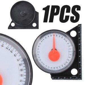 Image 4 - مقياس الميل المائل لتحديد الزوايا مقياس مستوى الميل والمنقلة مقياس لقياس الميل مع أدوات قياس القاعدة المغناطيسية