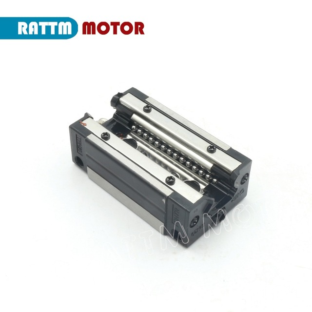 DE free VAT 20mm Square Linear Guide Rail TRH20 – 400 500 600 800 1200mm & TRH20B Carriages Square Slider Block for CNC Router