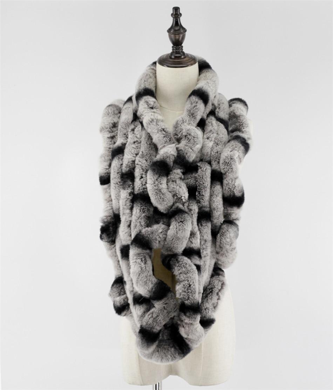 Na prodej pravý rex králík kožešinový kruh dlouhé šály šátky šnupací krk teplejší velmi měkké a teplé Doprava zdarma