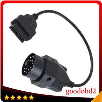 OBD2 Convert Cable For BMW Female 20 Pin to 16 Pin Connector E36 E39 X5 Z3 Adapter image