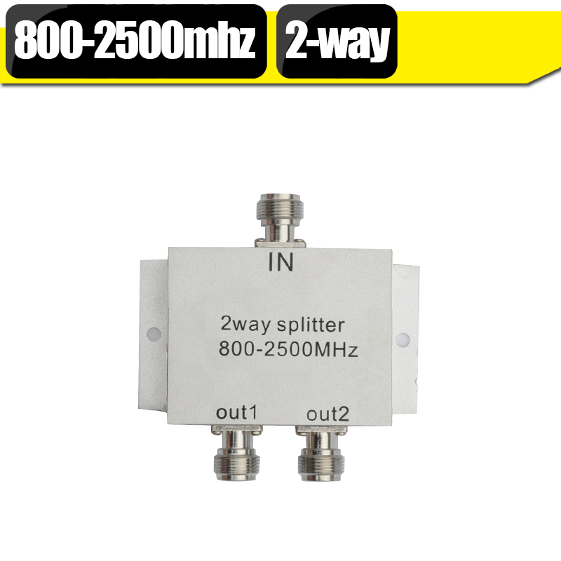 2way Power Splitter 800-2500mhz Microstrip Power Divider For GSM 3G Cell Phone Signal Booster Repeater