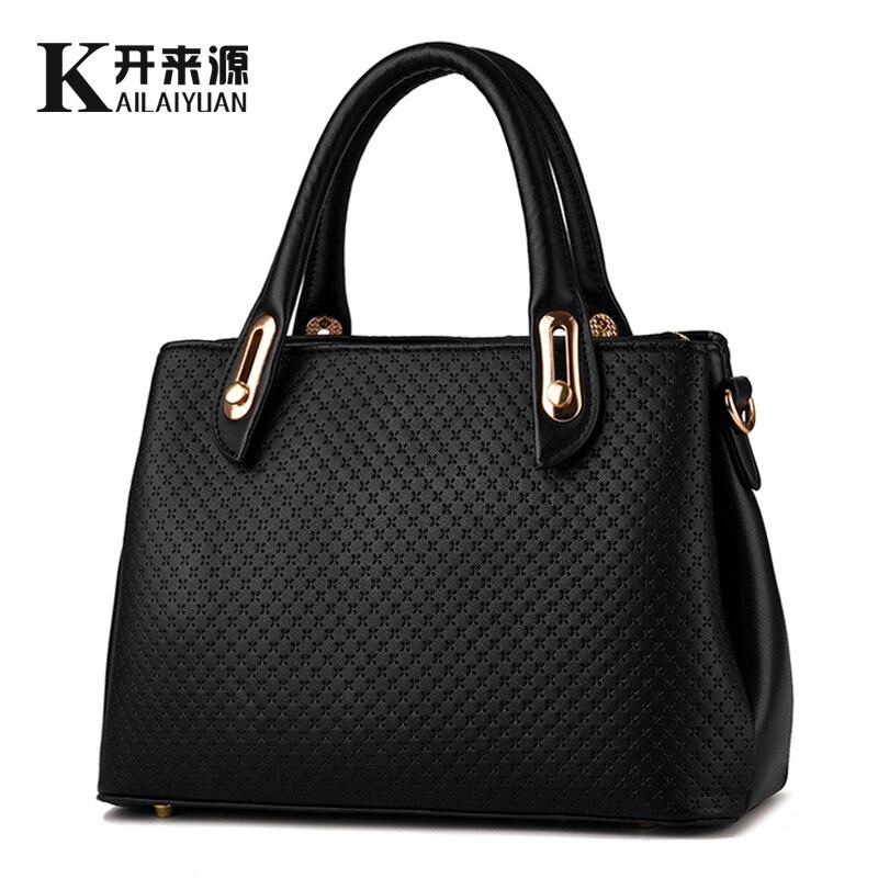 KLY 100% Véritable cuir Femmes sacs à main 2018 Nouveau style femme stéréotypes sac de mode sacs à main Épaule Messenger Sac À Main