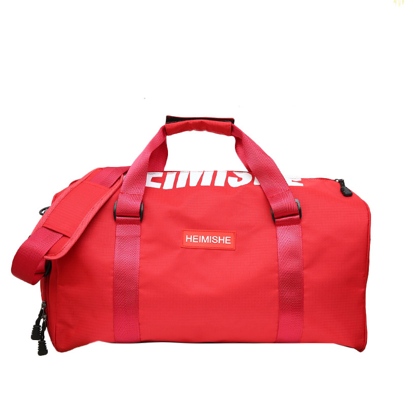 Women Men Waterproof Gym Bag Fitness Bag Portable Shoulder Travel Bag Independent Shoes Storage Basketball Bag
