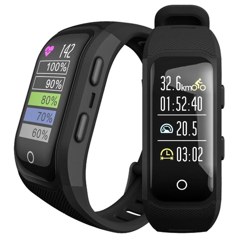 GPS Sports de plein air montre intelligente Multi fonction Mode d'entraînement Distance calories vitesse temps compte montre pour livraison directe