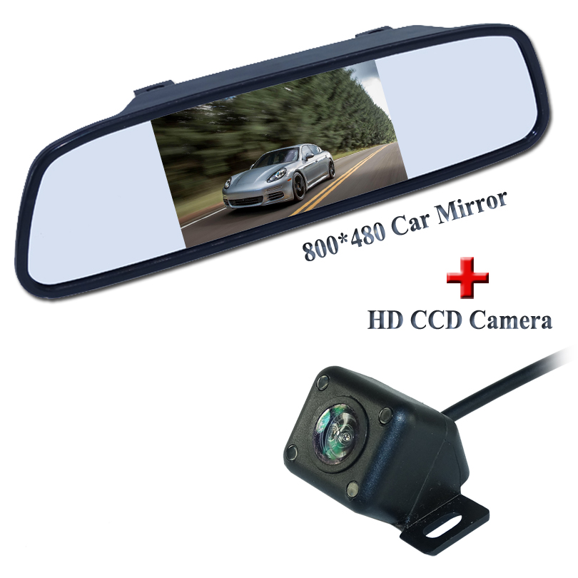 Best buy ) }}Factory Promotion For 4IR Night Vision New Reverse Camera With Monitor Car Rear View Camera