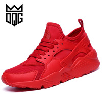 DQG Unisex Running Shoes Lightweight Sneakers for Men and W Runner Sports Shoes Breathable Mesh Outdoor Women Jogging Shoes